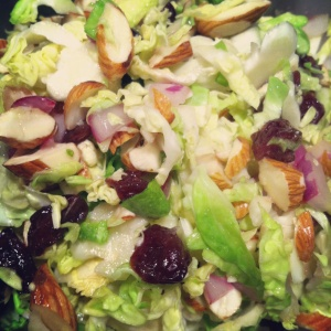 brusselsproutsalad